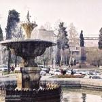 Baku Nizami Ganjavi monument