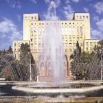 Baku Rest park in front of Academy od Sciences
