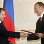 Ilham Aliev, Dmitry Medvedev